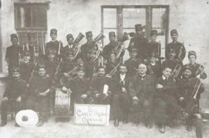 Ritratto del Corpo Musicale Operaio del 1908