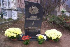 Stele ricordo dei Musici defunti - 13 novembre 2005