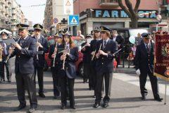 """Esibizione con gruppo majorette """"Le sirenelle"""" (Torino, Piazza Galimberti) - 17 aprile 2011"""