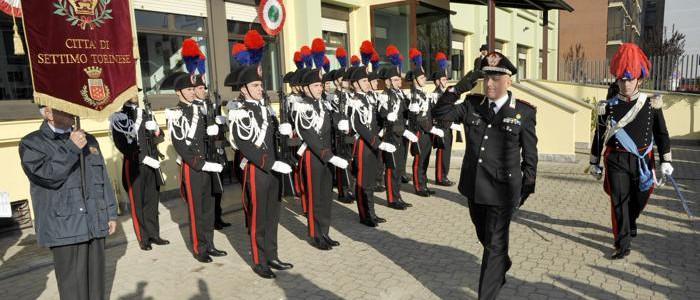 La caserma dei carabinieri di Settimo intitolata a Massimo Guerini