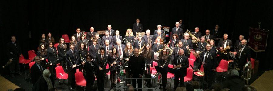 Grande successo per il concerto di Natale del corpo musicale cittadino